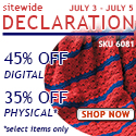 2015 July 4 Sitewide Sale LeisureArts.com
