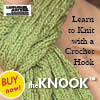 Simple Scarves Made With the Knook