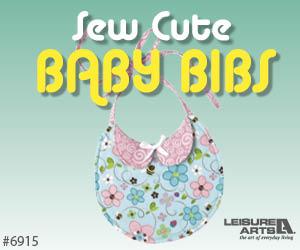 Sew Cute Baby Bibs