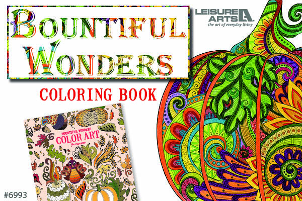 Bountiful Wonders Coloring Book