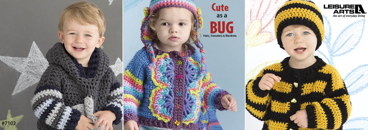 Crochet Cute as a Bug