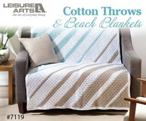 Cotton Throws & Beach Blankets � 6 Lightweight Projects Perfect for Indoors & Out