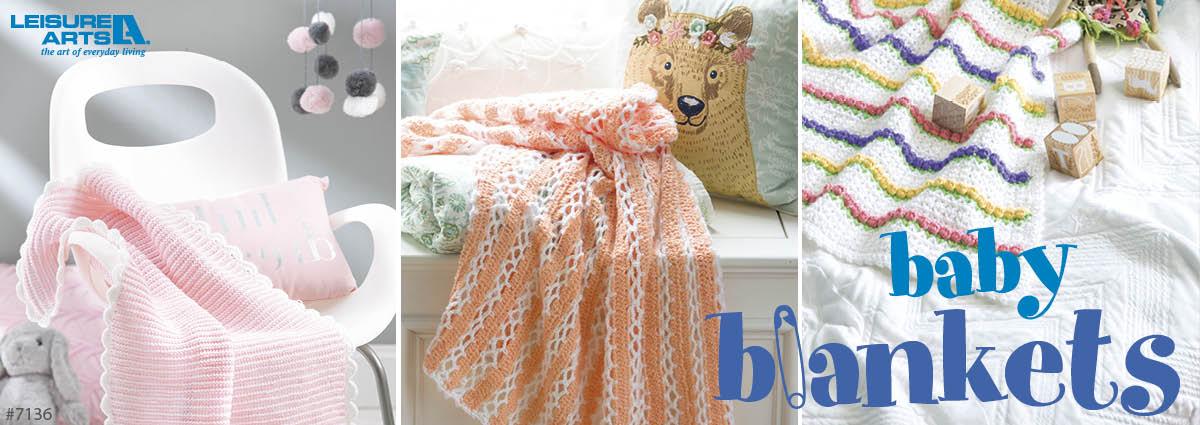 Baby Blankets - 8 Adorable Designs