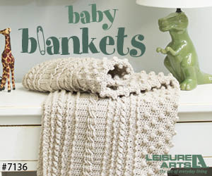 Baby Blankets - 8 Adorable Designs