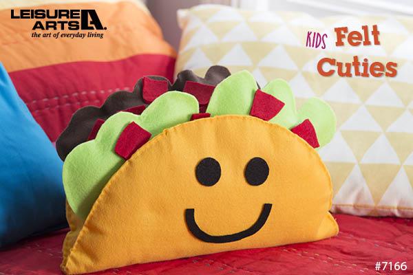 Crafts in Kids Felt Cuties