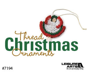 Thread Christmas Ornaments - 14 Easy Mini Decorations