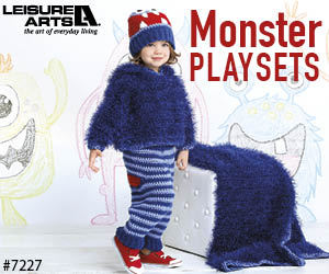 Crochet Monster Playsets