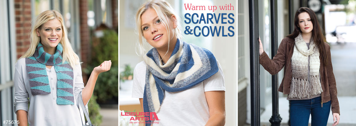 knit scarves & cowls