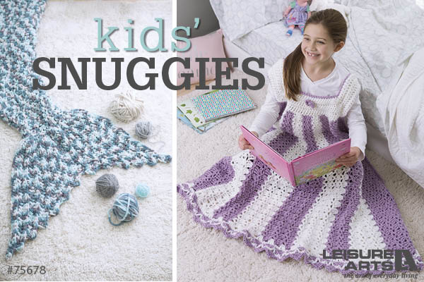 Kids' Snuggies - 7 Cozy & Fun Blankets By Lisa Gentry