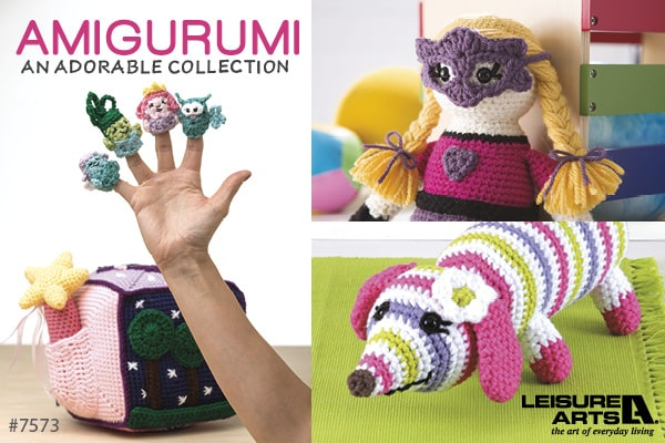 Amigurumi An Adorable Collection - 40 Heroes, Animals & Monsters to Crochet