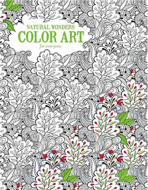 Natuaral Wonders Color Art Coloring Book