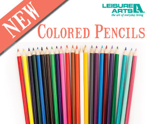 Leisure Arts Colored Pencils