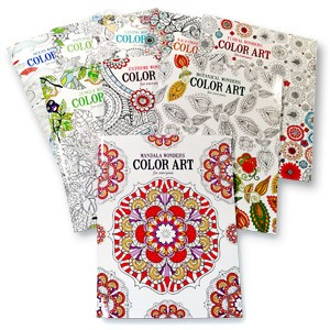 Adult Coloring Book Value Pack