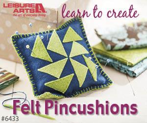 Felt Pincushions