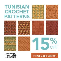 Crochet Stitches Learning : How can I learn to do different Tunisian crochet stitches ...