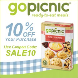 Save 10% Off Your GoPicnic.com Purchase!