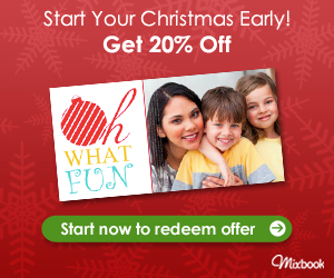 Save 20% off everything at Mixbook