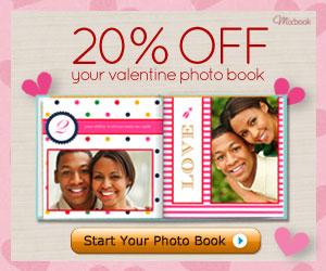 Mixbook Valentine's Day Photo Book Sale