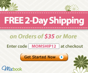Get Free 2-day Shipping at Mixbook