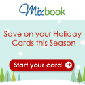 Save on Holiday Cards at Mixbook