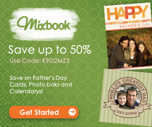 Save up to 50% at Mixbook (Code K9D2MZ3)
