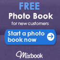 Join Mixbook and receive a FREE photo book