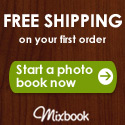 Join Mixbook and receive FREE SHIPPING