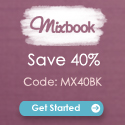 Save 40% on all photo books at Mixbook