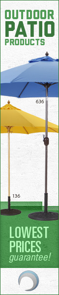 1STOPLighting Now Carries Patio Umbrellas, Heaters and Furniture Covers!