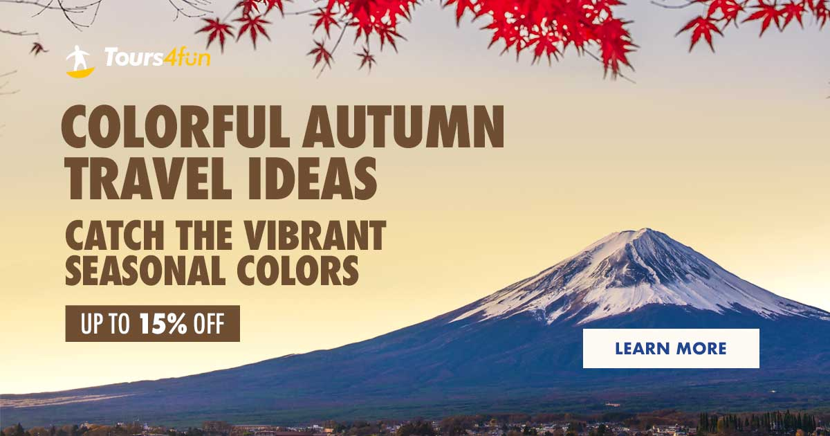 Colorful Autumn: Up to 15% Off