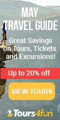 Experience the gorgeous transition of seasons in May: Tours up to 25% off!