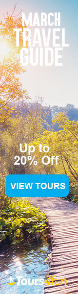 The March Travel Guide is here! Maximize your Spring Adventures with up to 20% off trips at Tours4Fun.com!
