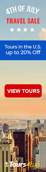 July 4th Sale:Up to 15% off tours!