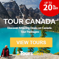 Tour Canada! Discover Amazing Deals on Canada Tour Packages UP TO 20% OFF!
