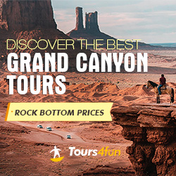 Discover the best Grand Canyon Tours!