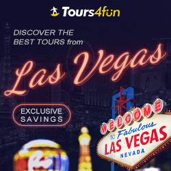 Discover the best tours from Las Vegas!