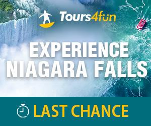 Last Call to Niagara Falls: Save up to 10%
