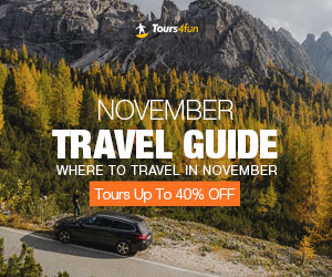 November Travel Guide Promotion: Up to 20% Of