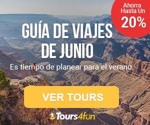 Guía de viaje de Junio: Tours con hasta 20% de descuento!