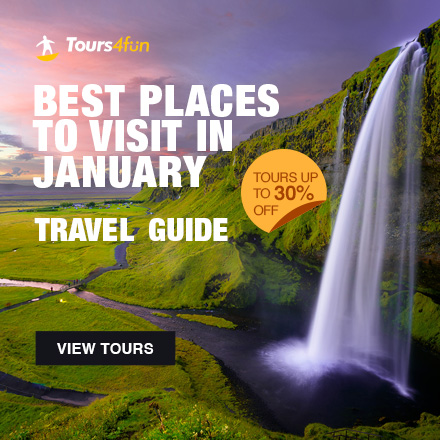 Best Places to Visit in January - Tours up-to 30%