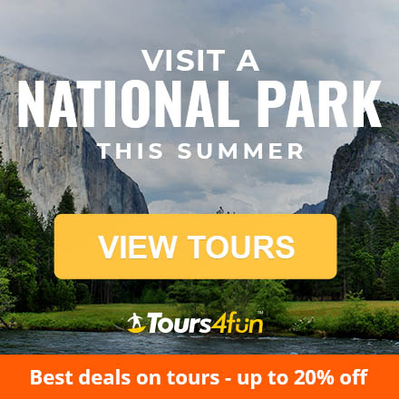 Find deals to North America's most beautiful places: Tours up to 20% off!