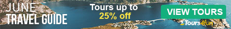 The June Travel Guide is here! Maximize your Summer Adventures with up to 25% off trips at Tours4Fun.com!