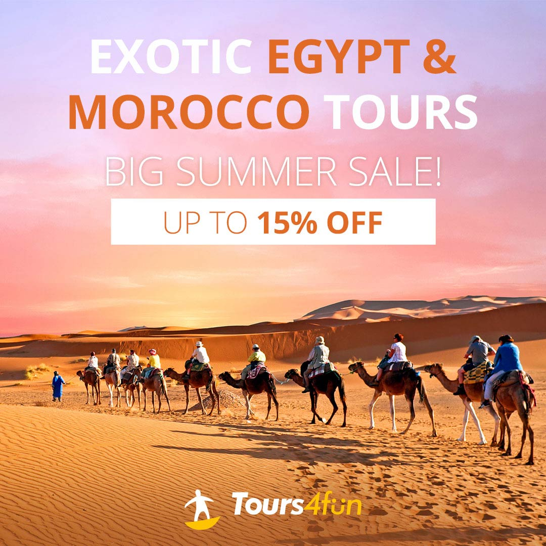 Summer In North Africa: Up to 15% off tours!