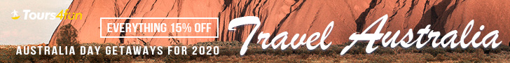 Travel Australia - Tours and Things to do 15% Off