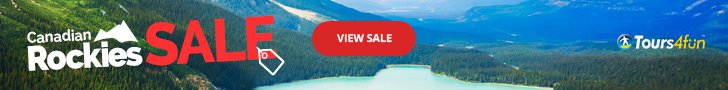 Up to 10% off Canadan Rockies Tours (3/4 - 3/23 GMT)