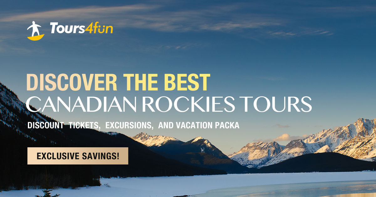Discover the best Canadian Rocky Mountains Tours!