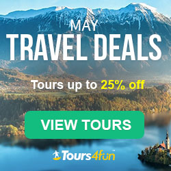 The May Travel Guide is here! Maximize your Spring Adventures with up to 25% off trips at Tours4Fun.com!