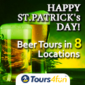 Beer Tours in 8 Locations