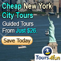 Cheap New York City Tours