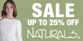 Save 25% on Sale Items at Naturals